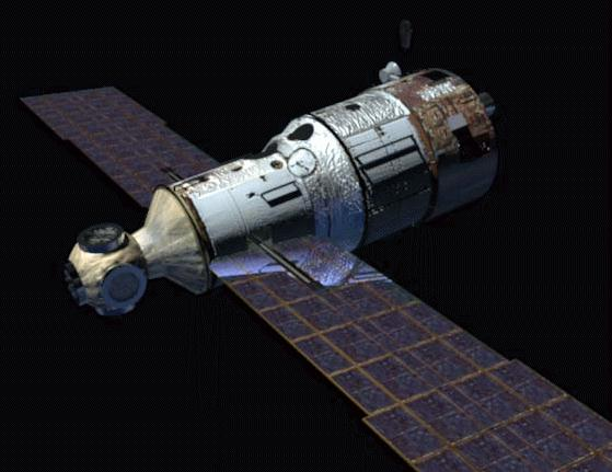 Components Of Mir Space Station Mir Core Module
